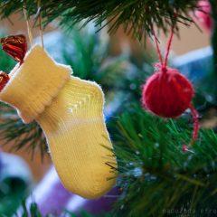 Варежки и носочки для новогодней елки