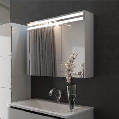 Зеркальный шкаф в ванную