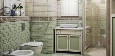 Уютная и романтичная ванная комната: дизайн в стиле прованс