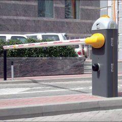 Автоматический шлагбаум предотвращает незаконный доступ